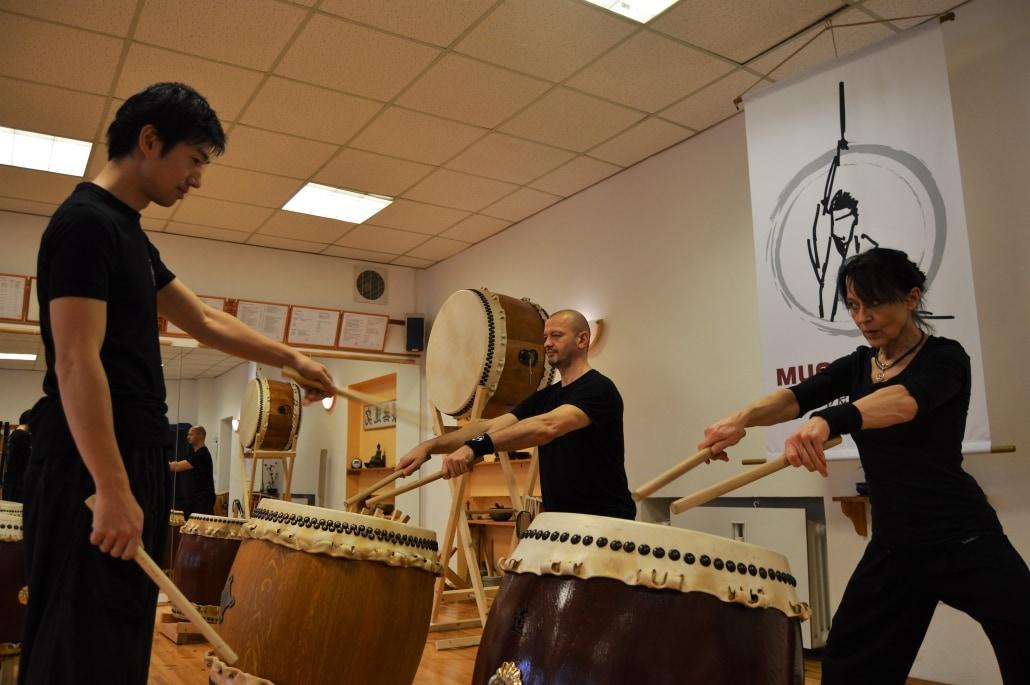 japanisches Trommeln, Taiko, Wadaiko, Mugen Taiko, Mugen Dojo, Drum Kids, Kinder Trommeln, Mülheim a.d. Ruhr,